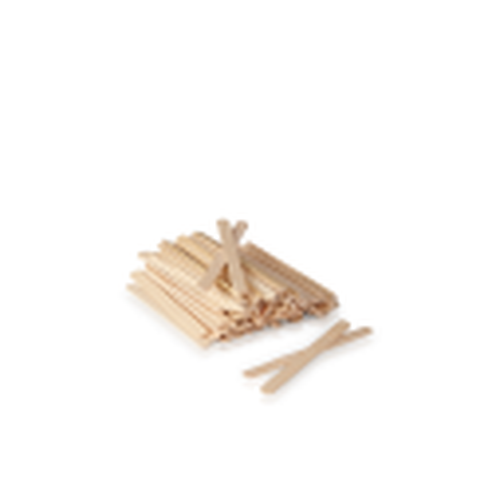 Drewniane szpatułki średnie